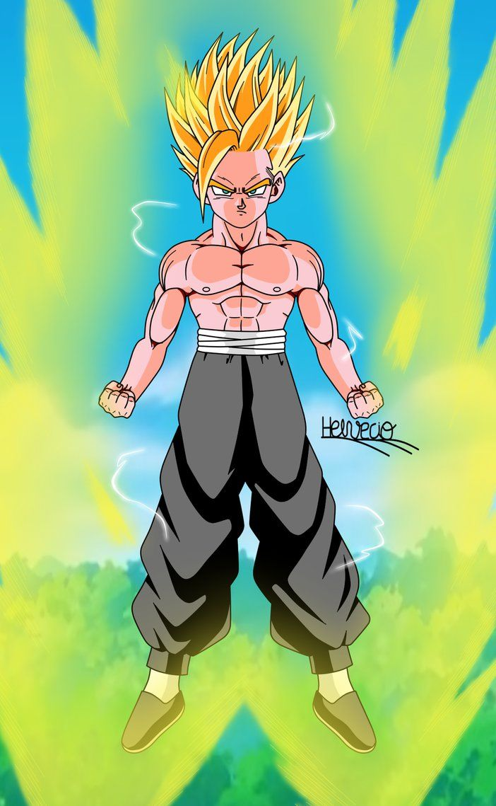 Gohan Ssj2 Cell Saga By Helveciobnf  Dragon Ball -3620