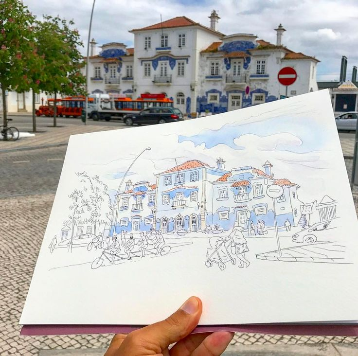 Old train station in Aveiro