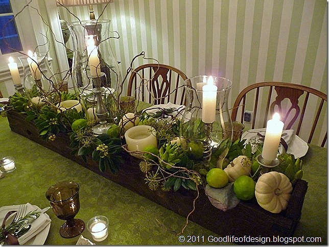 Table setting inspiration (next year)