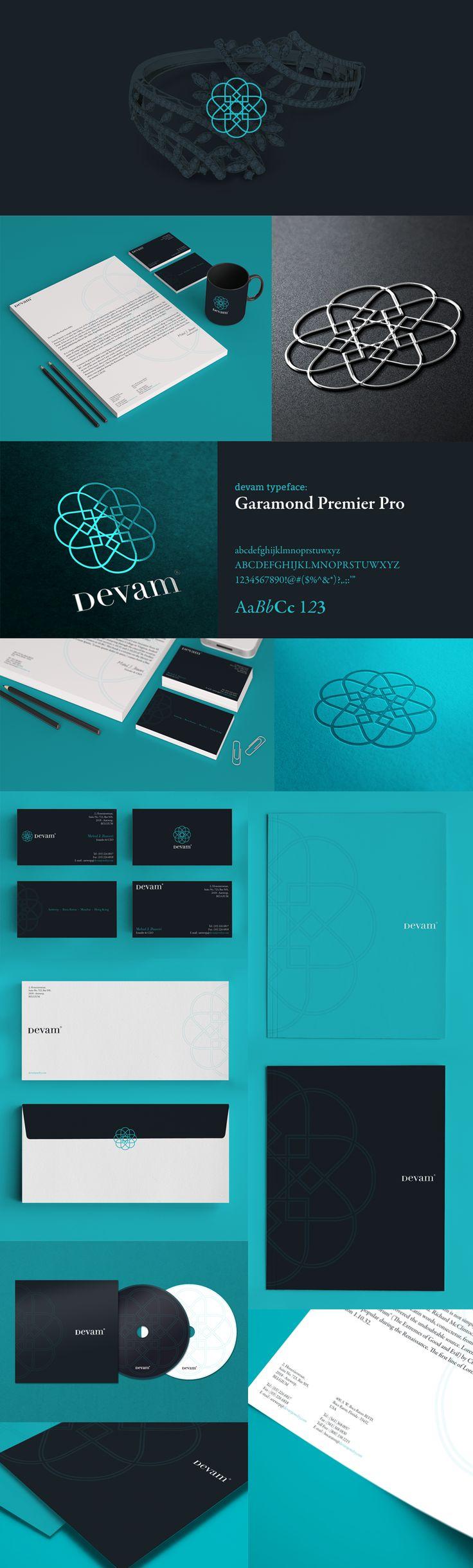 Devam branding | Designer: Triptic, repinned by www.BlickeDeeler.de
