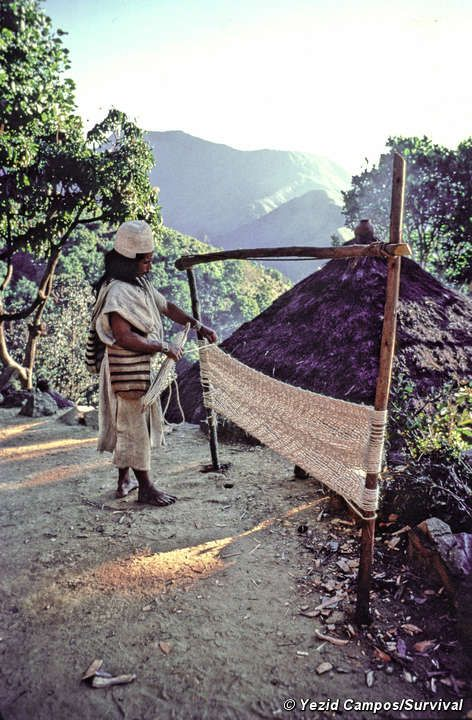 Sierra Nevada Indians in northern Colombia -- fighting development. #indigenousrights