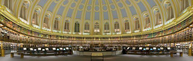 Entre las bibliotecas más bonitas del mundo: Sala de Lectura del Museo Británico #viajar #Europa