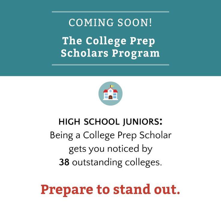 CALLING ALL #highschool JUNIORS: The @Questbridge 2017 College Prep  Scholarship is open!
