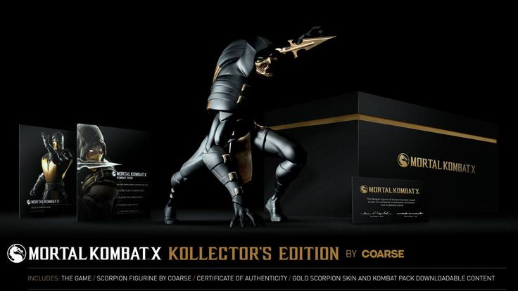 The Mortal Kombat X  Kollector's Edition Scorpion