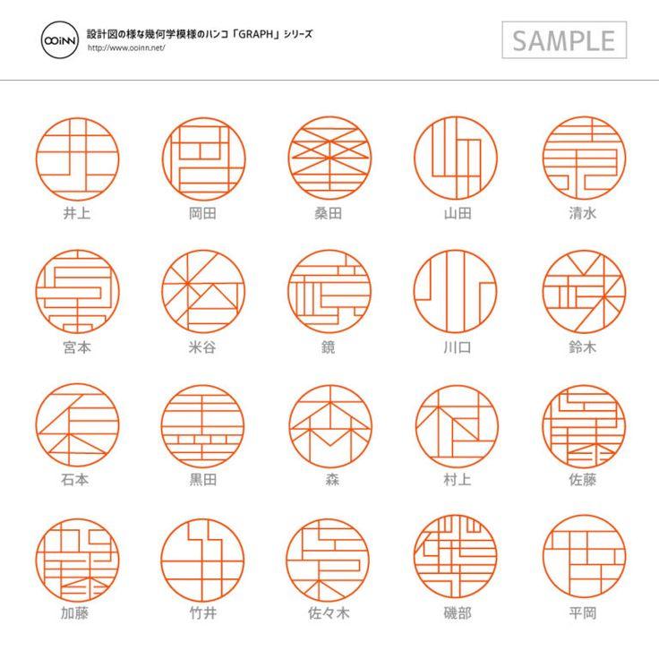「漢字線條幾何化」的印鑑美學設計
