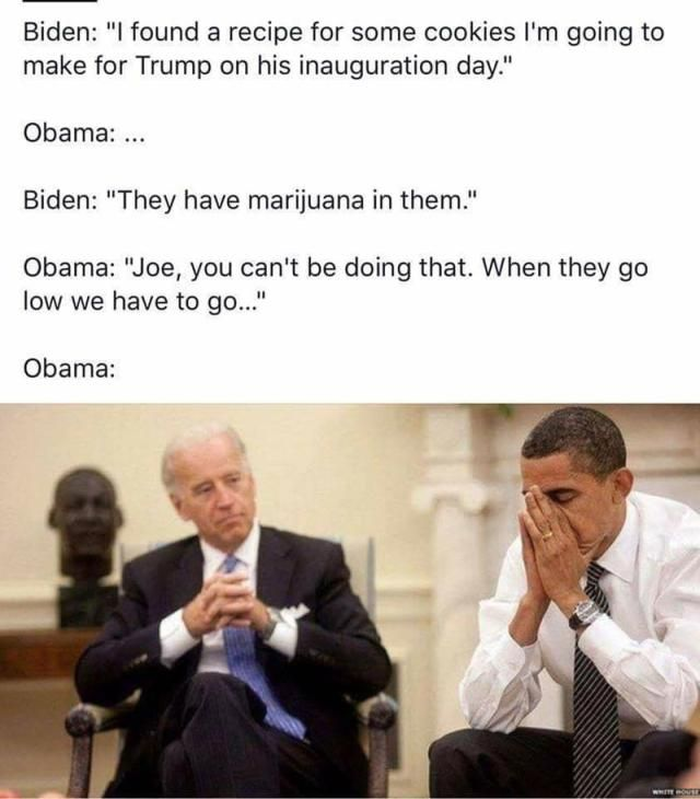 Funniest Memes of Biden and Obama Pranking Trump: When They Go Low