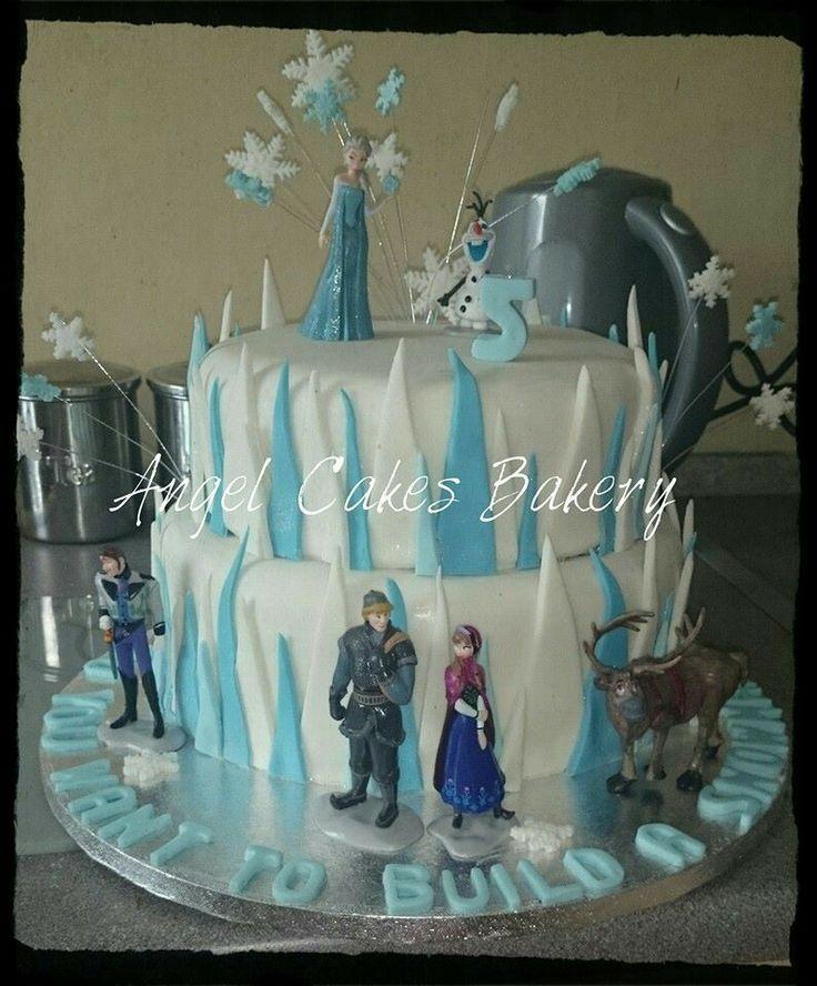 Frozen cake. Let it go.....