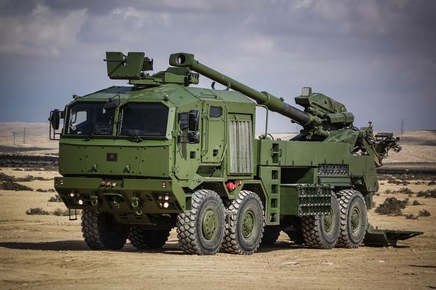 Atmos 2000 155mm Self-Propelled Artillery System, Israel | Thai Military and Asian Region