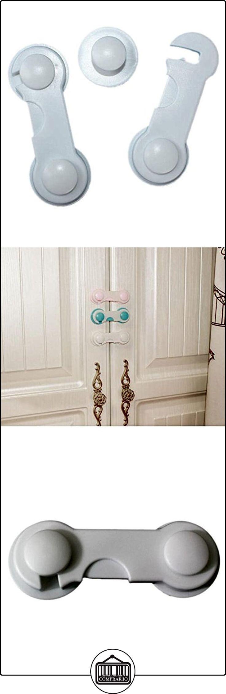 Highdas Gabinete Cajón Refrigerador Frigorífico Armario Adhesivo Cerraduras de Seguridad Baby Clip de Clip de Prueba Blanco 6 Packs  ✿ Seguridad para tu bebé - (Protege a tus hijos) ✿ ▬► Ver oferta: http://comprar.io/goto/B01MS5H1LP