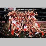 Sydney Swans 2012 Premiers Celebration Print
