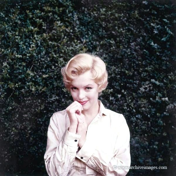 Milton Greene, Marilyn Monroe, hair test sitting