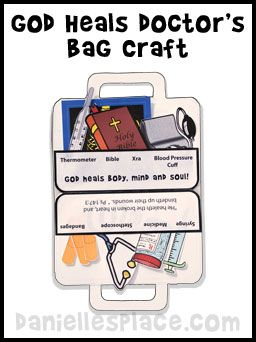 First Aid Bible Craft for Sunday School from www.daniellesplace.com