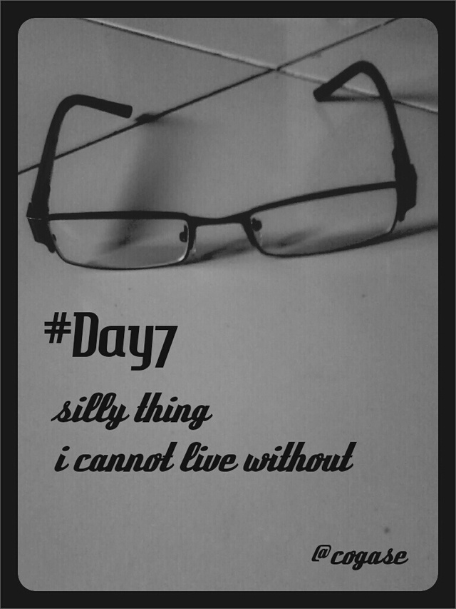 #30DaysChallenge Day 7: Silly Thing I Cannot Live Without by @Yoshie Adi