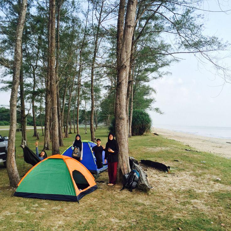 Malaysia Beaches: Outdoor Beach Camping, Pantai Sepat, Kuantan, Pahang