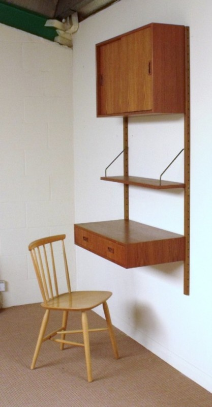 about shelving unit desk for dining room on pinterest shelves