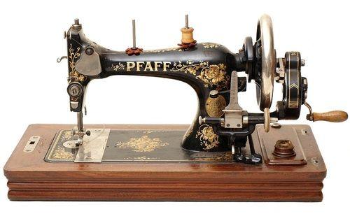 Pfaff sewing machine, c. 1900.