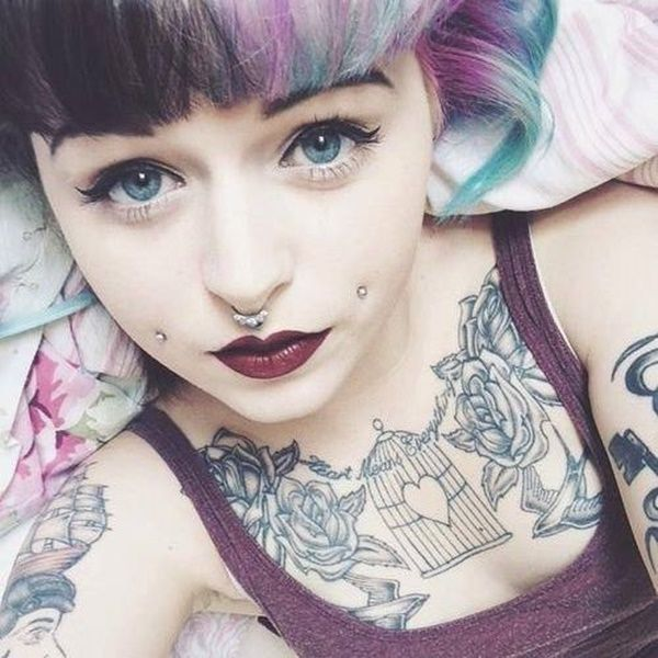 125 Cheek Piercing (Dimple) Ideas, Jewelry and Information awesome