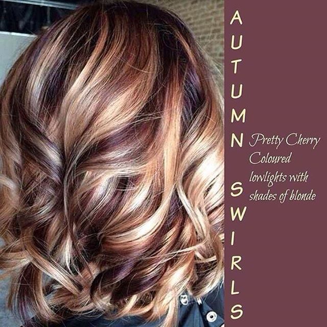 """""""This is just gorgeous for fall! #fall #hair"""""""