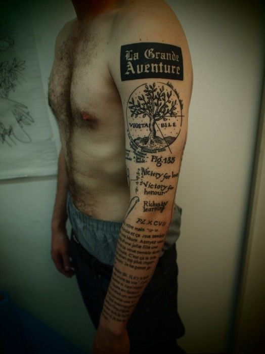 1000 ideas about guy arm tattoos on pinterest hot for Arm mural tattoos