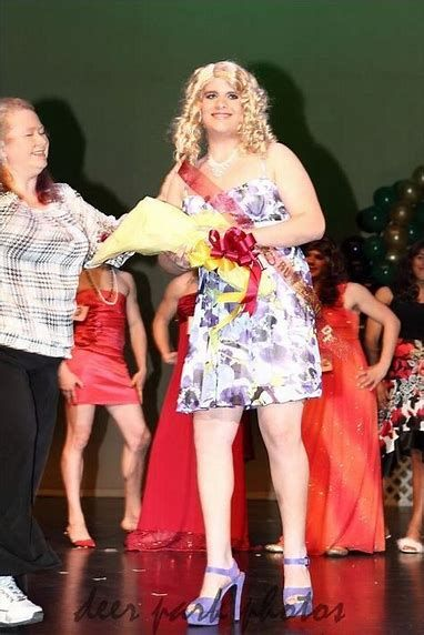 Cute Boys Womanless Pageant