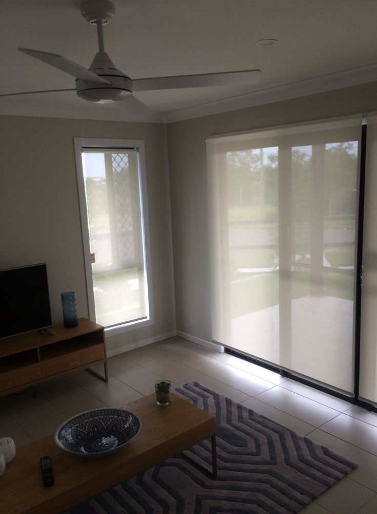 Screen Fabric Blinds Living Room
