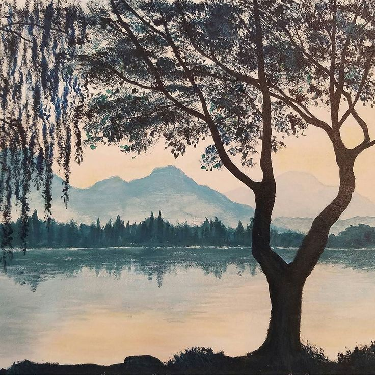 25 best ideas about how to paint water on pinterest for Painting on water tutorial