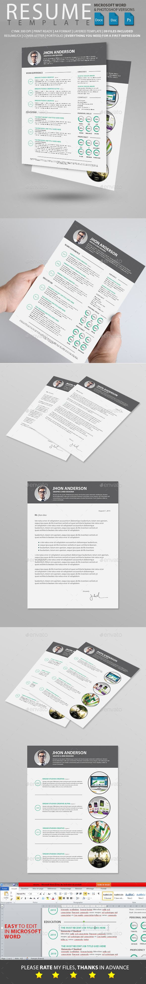 Resume Pdf Or Word Download%0A doc format resume doc format resume Resume Resumes Stationery Download here  https graphicriver net