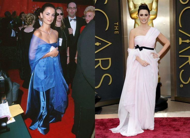 Celebrity na Oscarech tehdy a nyní - Penelope Cruz