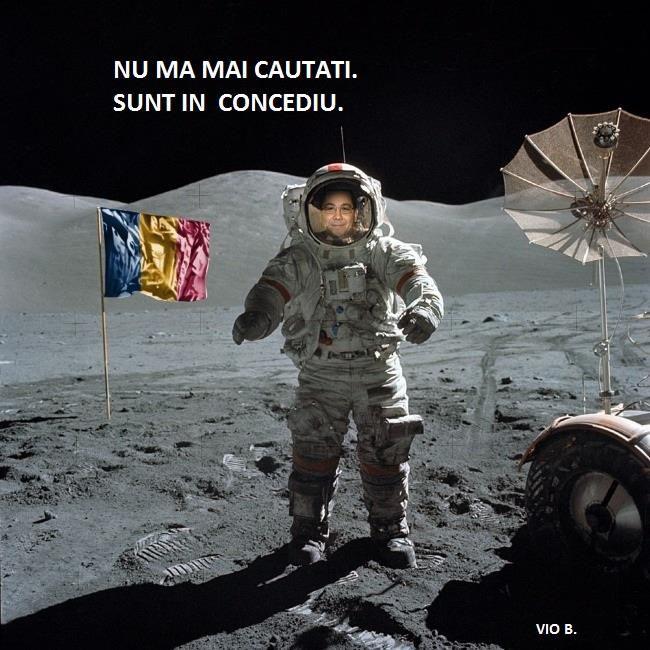 Victor Ponta in concediu