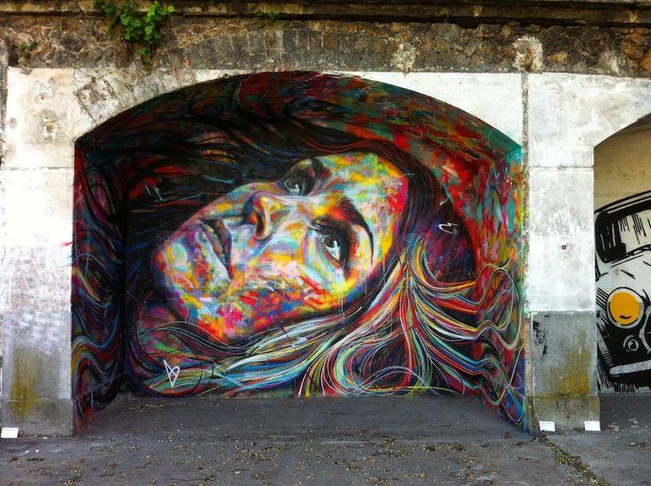 By David Walker at IN SITU Art Festival. In Aubervilliers, France.