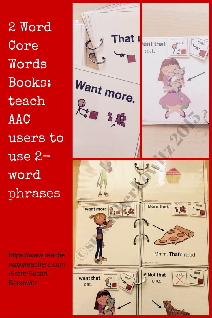 8 best tips for communicating images on pinterest aphasia aac 2 core word phrases books for teaching aac users to communicate fandeluxe Choice Image