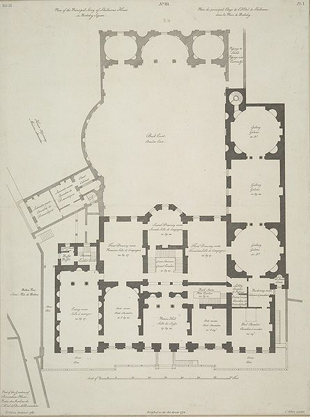 136 best 18th century architecture images on pinterest for 18th century house plans