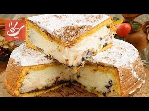 Torta di ricotta e cioccolato (Spadellandia)