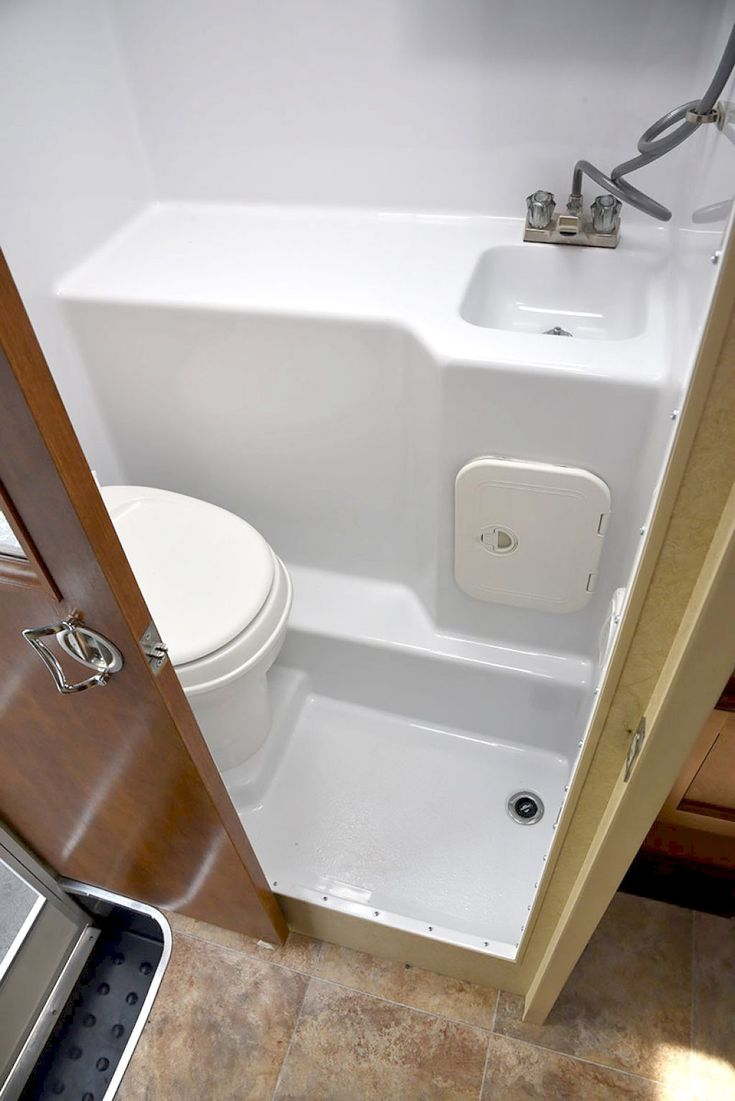 Rv Bathroom Remodeling Ideas Inspiration Best 25 Rv Bathroom Ideas On Pinterest  Camper Hacks Trailer Design Ideas