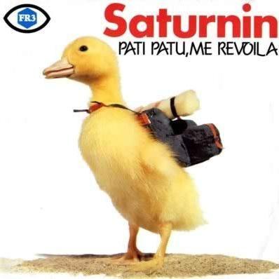 Saturnin, trop top la voix !