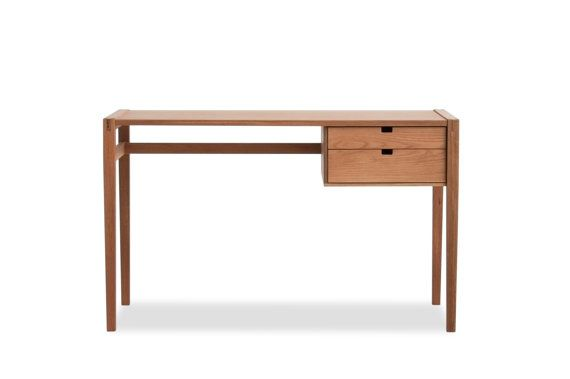 With exposed mortise and tenon joinery and a profile from eras gone by, our Garfield Desk will have you wishing youd sprung for that $10 mechanical