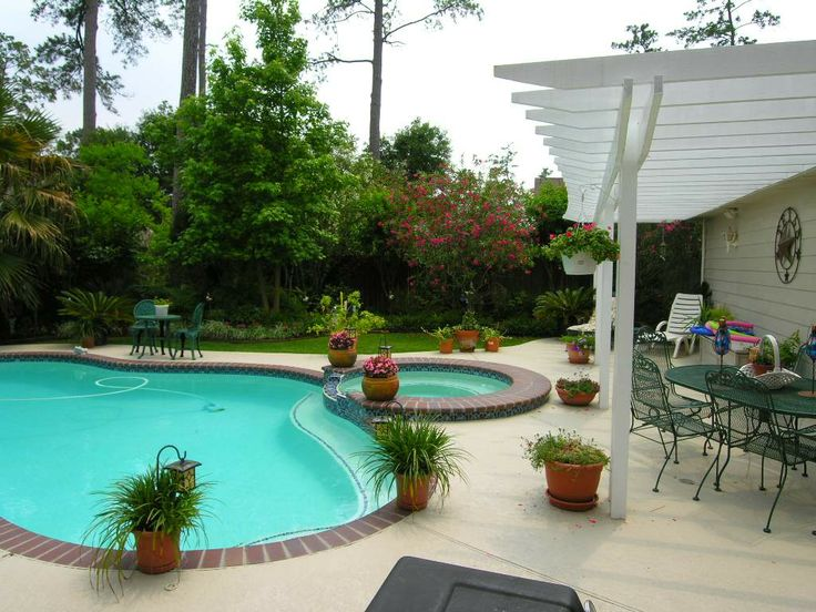 Cool Backyard Pools | Super Private Pool/Spa Patios On One Of Best Streets  In
