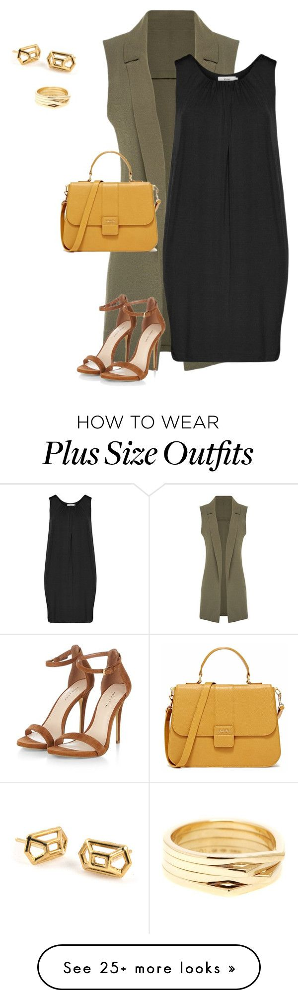 """plus size office chic for spring"" by kristie-payne on Polyvore featuring moda, Zizzi, Repossi, women's clothing, women, female, woman, misses i juniors"