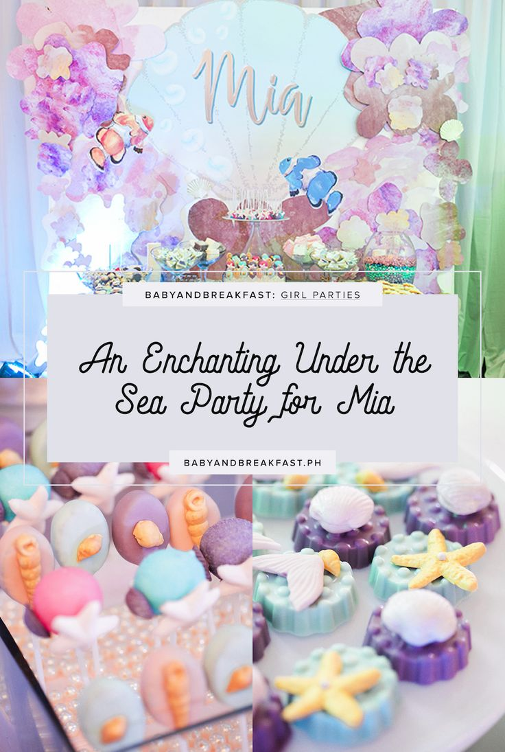 51 best Under The Sea images on Pinterest | Girl parties and Ph