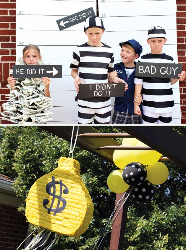 Lego Cops and Robbers Birthday Party