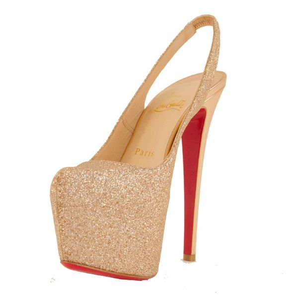 When did hooker heels make their way into polite society? Christian Louboutin - Dafsling Platform Shoes