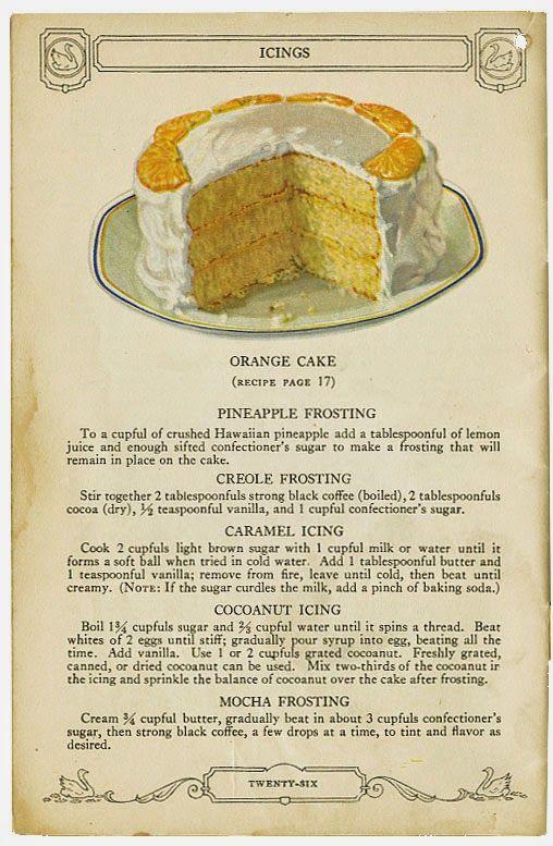 1926 CAKE SECRETS from Swans Down Cake Flour