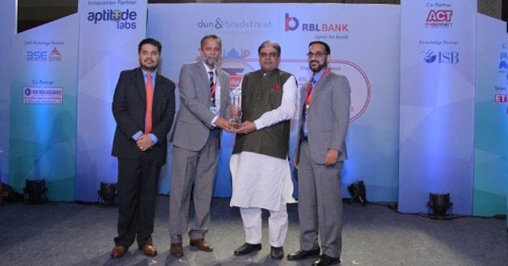 EXG bags Dun & Bradstreet and RBL Bank 'SME Business Excellence Awards 2016'