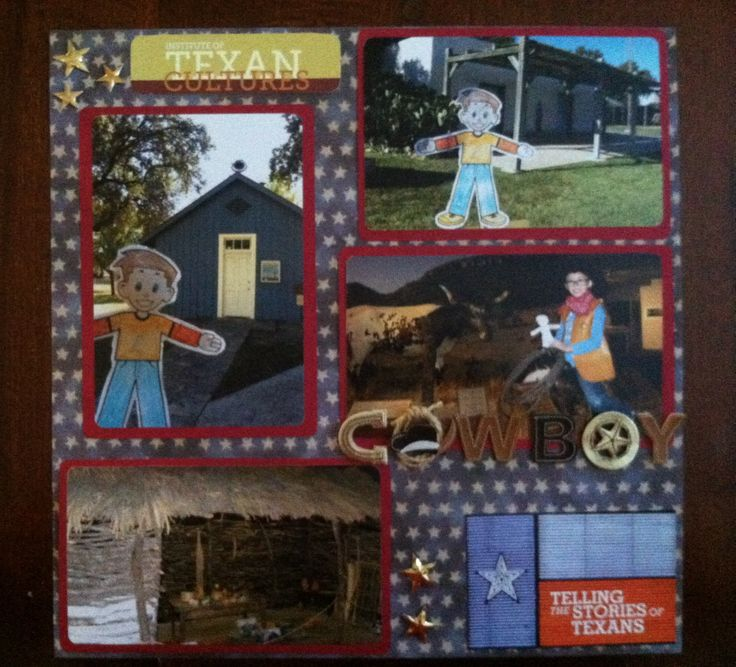 Flat Stanley visits the Institute of Texas Cultures in San Antonio, Texas