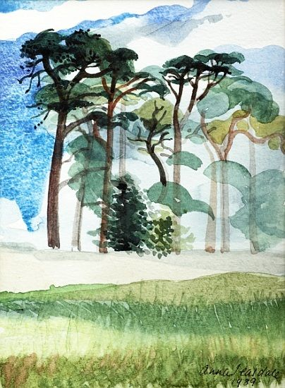 Bild:  Anna  Teasdale - Wiltshire Pines