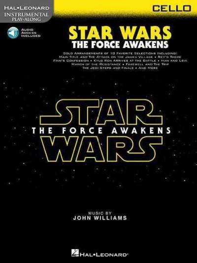 Star Wars: The Force Awakens: Cello, Includes Downloadable Audio