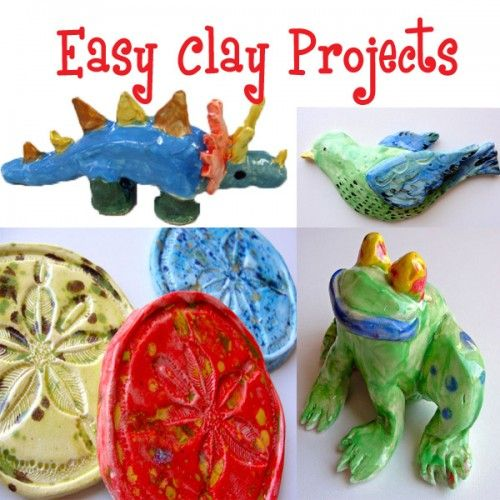 Easy clay projects