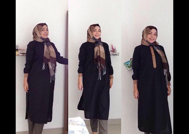 Black tunic, sewing projecf