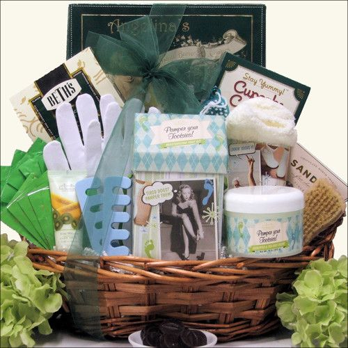 Her hands and feet will never be the same after she enjoys this amazing Hand & Foot Spa Gift Basket.