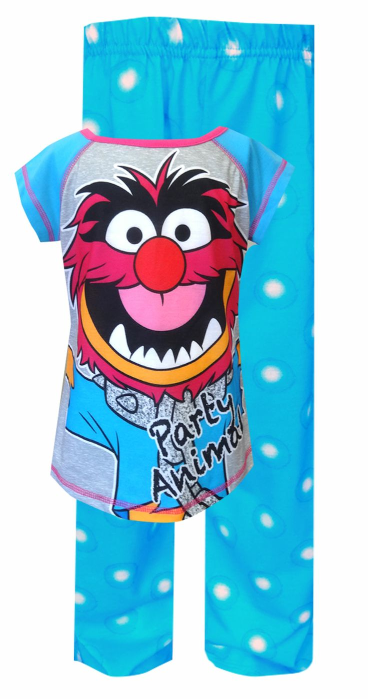 Disney's Muppets Animal Pajama Time for some fun...Animal style! These flame resistant pajamas for girls feature the Muppet's A...